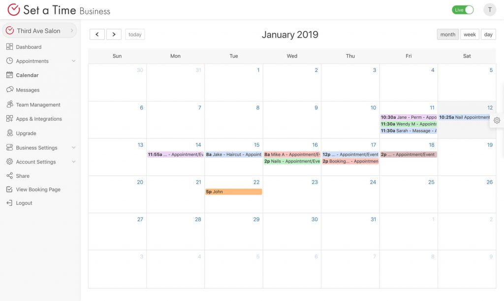 Best appointment scheduling software and calendar app