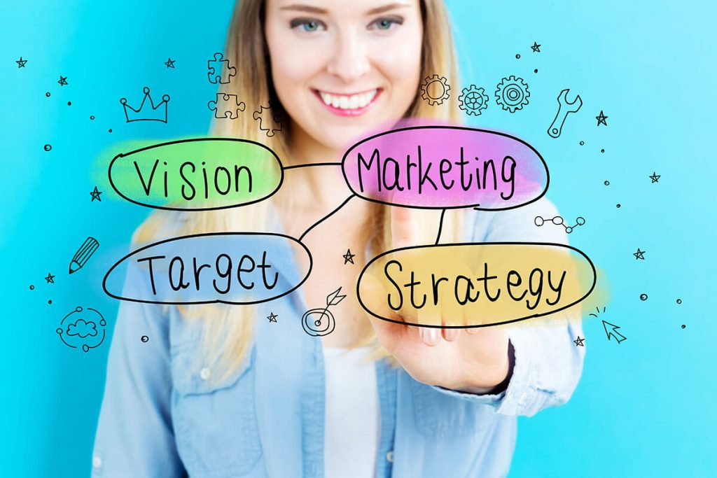 Salon marketing strategies - vision, target, digital marketing, and strategy